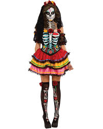day of the dead costumes day of the dead senorita womens costume themes