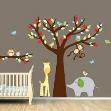 stickers animaux chambre bébé stickers deco chambre bebe sticker animaux chambre bacbac stickers