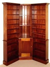 Cherry Wood Bookcase With Doors Cherry Wood Bookcase Shaker Bookcase Solid Hardwood Cherry