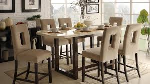 dining room outstanding tall dining room sets counter height