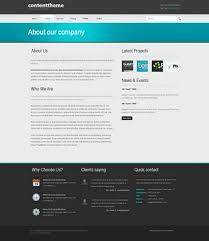contentstudio html template corporate business website