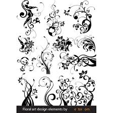 floral ornament vector graphics at vectorportal
