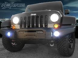 led lights for jeep wrangler jk lights fortec ft up 7g h16w cr 30w fortec high powered led