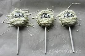 halloween treats mummy oreo pops recipe little miss kate