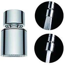 aerator kitchen faucet waternymph hibbent dual function 2 flow kitchen sink aerator 360