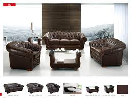 living set 262 full leather leather classic 3 pcs sets living room furniture