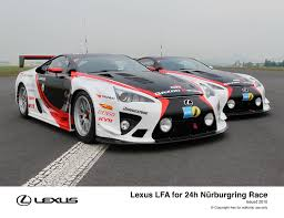 lexus specialist uk lexus and gazoo racing compete together at nürburgring 24h race