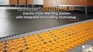 ditra heated floor carpet vidalondon