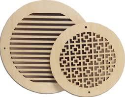 circular wood wall vent covers wood wall vents