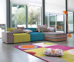 Colorful Living Room Decorating Ideas Play With The Paint Home - Colorful living room