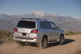lexus overland vehicle lexus gives the 2013 lx 570 luxury suv a new face