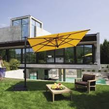 Grass Patio Umbrellas Furniture Cozy Cantilever Patio Umbrella For Your Outdoor
