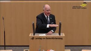 Dr Gehrke Baden Baden Gouverneur Von Kalifornien Edmund G Brown Hält Eine Rede Im