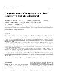 long term effects of ketogenic diet in obese subjects with high