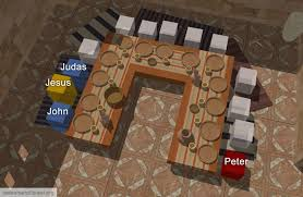 redeemer of israel the setting of the last supper a triclinium