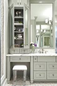 bathroom makeup vanity ideas bathroom makeup vanity white makeup vanity with mirrored stool
