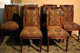 Patterned Upholstered Chairs Design Ideas Fabric For Dining Room Chair Chair Design Collection