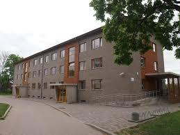 dormitory of luua forestry luua metsanduskool estonia
