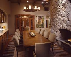 fascinating big dining room tables person table wooden fireplace