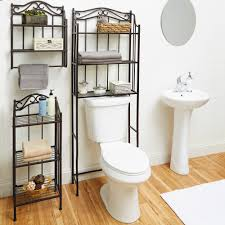 Bathroom Storage Wall Chapter 3 Tier Ornate Metal Bathroom Floor Shelf Bronze Walmart