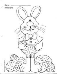 kids easter coloring pages bunny hunting eggs coloring pages