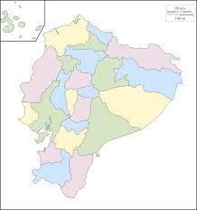 South America Outline Map by Map Of Ecuador South America