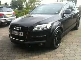 all audi q7 blacked out audi q7