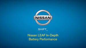 nissan leaf extended warranty nissan leaf in depth battery performance youtube