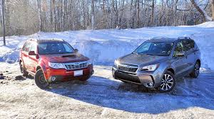 blue subaru forester 2015 2017 subaru forester xt vs 2011 subaru forester xt new vs old