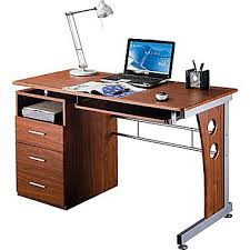 Desktop Computer Desk Rta Products Techni Mobili Computer Desk With Storage Mahogany