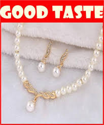 pearl necklace with pendant images Wholesale high grade pearl necklace matching earrings high end jpg