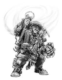 dwarf explorer artificer by butterfrog on deviantart pathfinder