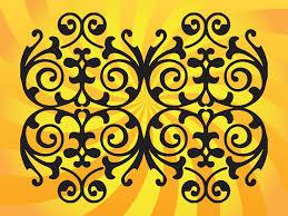 floral vector ornament vector graphics freevector