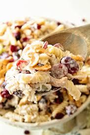 cashew chicken rotini salad julie u0027s eats u0026 treats