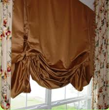 How To Make A Small Curtain How To Make London Shades Room Set Valance And Room