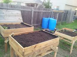 things to make out of pallets raised beds out of wooden