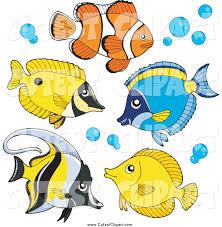 vector clip art of saltwater fish by visekart 2209