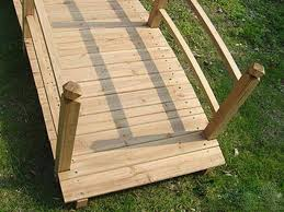 ringhiera in legno per giardino ponticello da giardino in legno ponte per a roma kijiji