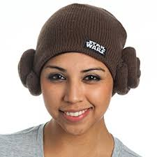 hair buns wars princess leia hair buns knit beanie clothing
