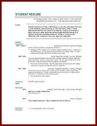 Template For Academic Resume 18 Sample Of An Academic Resume For A Graduate Sendletters Info