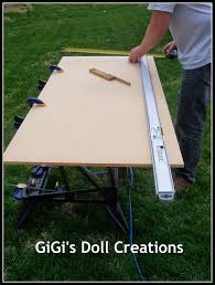 american doll dining table gigi s doll and craft creations american doll house tutorial