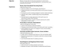resume format exles for teachers music teacher resume format