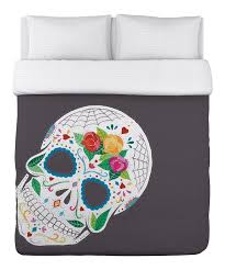 Day Of The Dead Bedding 398 Best Day Of The Dead Images On Pinterest Skulls Sugar