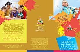 play school brochure templates play school brochure templates brochures printable csoforum info