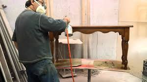 Sofa Table Oak by Refinishing A Oak Sofa Table At Timeless Arts Youtube