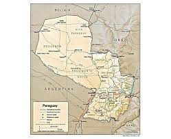 Map Of Tennessee Cities by Maps Of Paraguay Detailed Map Of Paraguay In English Tourist