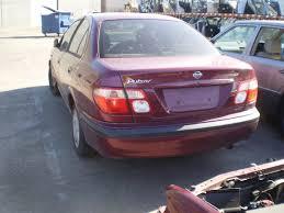 nissan pulsar n16 si trunk bootlid shell maroon 00 03 auto parts