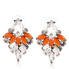 usher earrings we these frank usher earrings combining colour pop with the