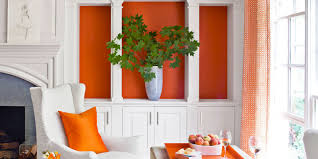 decorating with orange accents home decor