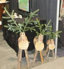 log reindeer log reindeer family 1 each small medium and large